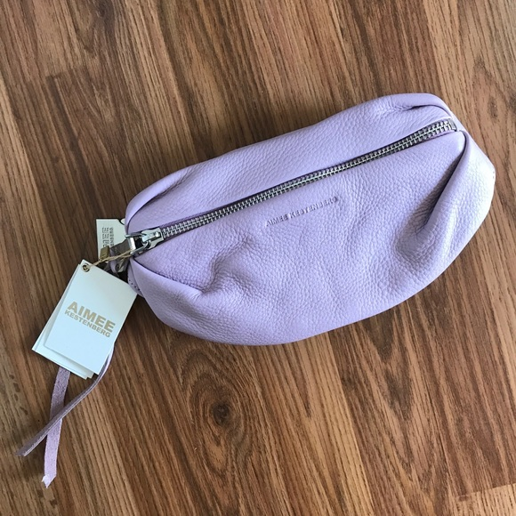 d7fd548ee979 NWT Aimee Kestenberg Milan bum bag - lavender NWT